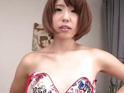 JAPAN HD Japanese Teen cums and makes cum