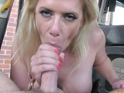 Cheating GF tries anal sex in the cab