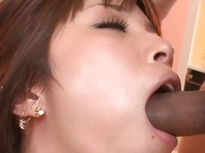 Fantastic gang gang bang for asian babe