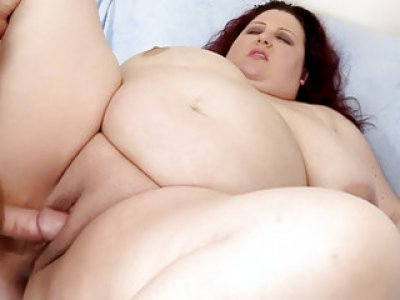 Big boobed fatso Stazi suck and fuck