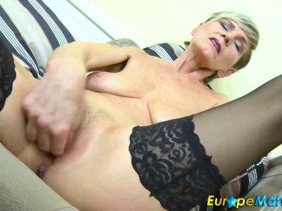 EuropeMaturE Hot Ladies Masturbation Compilation