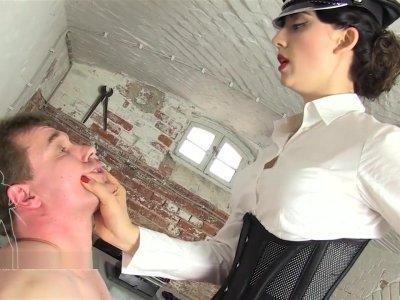 Slap Spit Humiliation