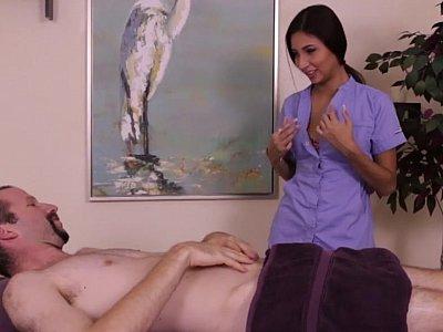 Femdom + massage