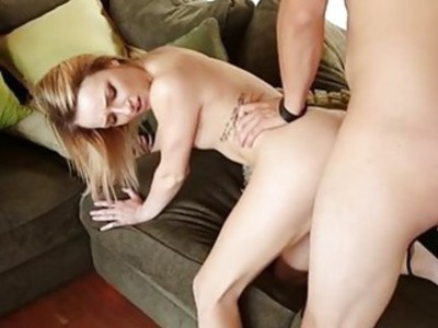 Massive and hard cock impresses nasty sweetheart