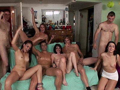 Teen party in the house