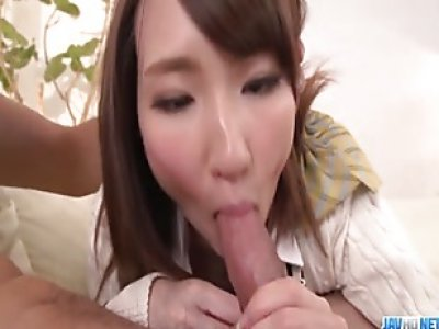 Aroused Rika Anna wants cock in each of her holes More at javhd net