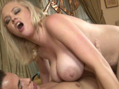 Milk skinned chubby brick house Katie Kox in her hardcore fucking scene