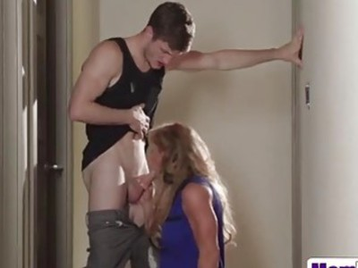 Janet Mason and Farrah Dahl get fucked by a lucky guy