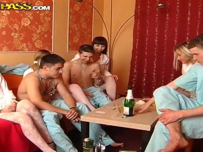 Awesome medical college sex party part with hottest girl you ever seen