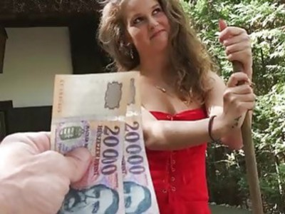 Pretty Eurobabe fucked and cum facialed
